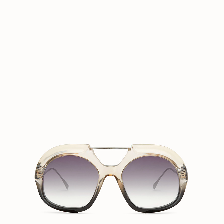 FENDI TROPICAL SHINE - Black and crystal sunglasses  - view 1 detail