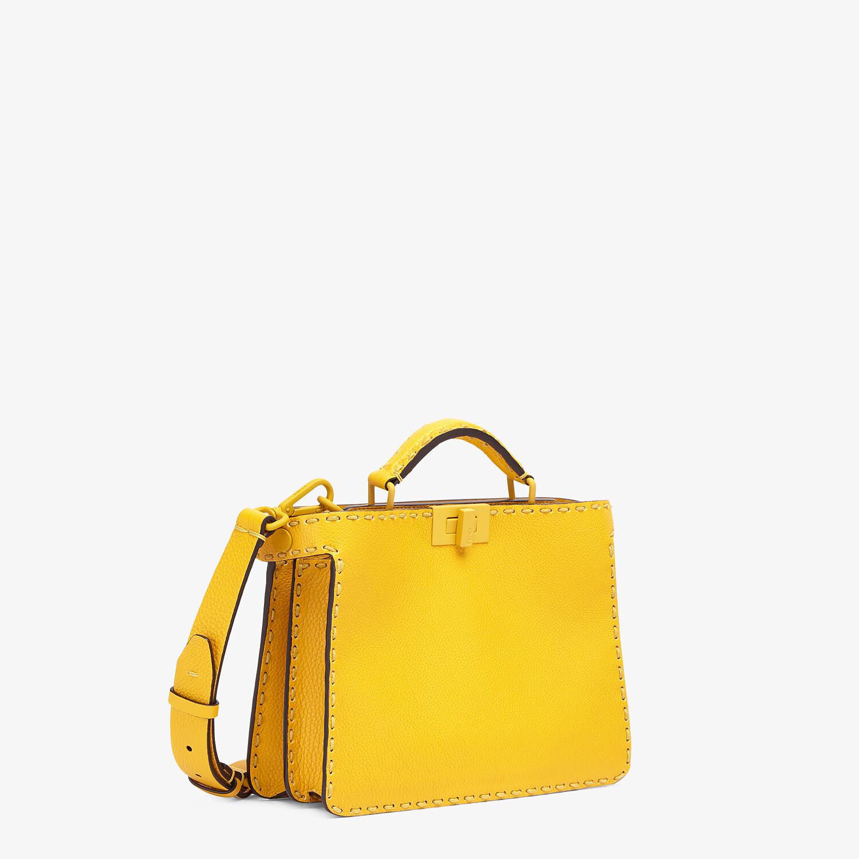 FENDI PEEKABOO ISEEU MINI - Yellow leather bag - view 3 detail