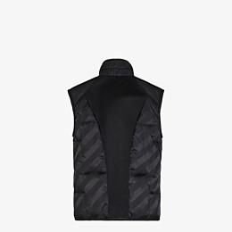 FENDI VEST - Black nylon vest - view 2 thumbnail
