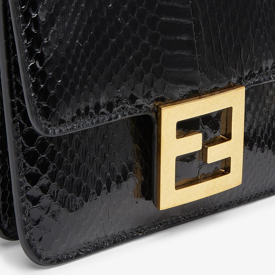 FENDI FENDI FAB - Black elaphe bag - view 5 detail