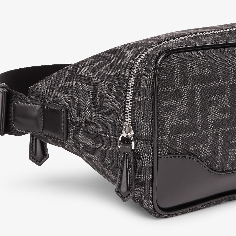 FENDI BELT BAG - FF jacquard fabric bag - view 5 detail