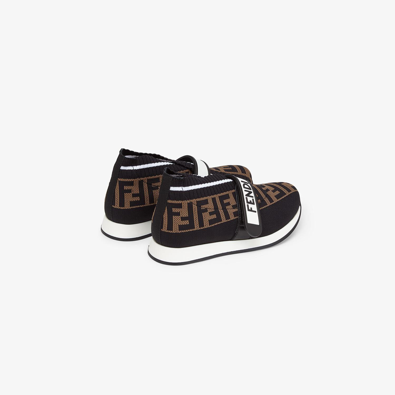 FENDI SNEAKERS - Fabric unisex junior sneakers - view 3 detail