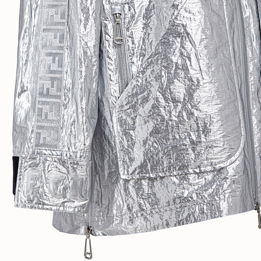 FENDI CAPE - Fendi Prints On nylon parka - view 3 detail