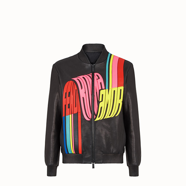FENDI BOMBER - Fendi Roma Amor leather jacket - view 1 small thumbnail