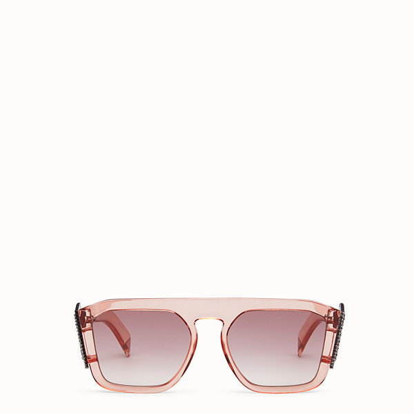 FENDI FFREEDOM - Pink sunglasses - view 1 small thumbnail