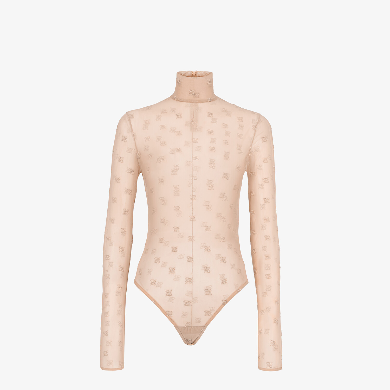 FENDI BODY - Pink tulle body - view 1 detail