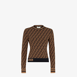 FENDI SWEATER - FF motif sweater - view 1 thumbnail