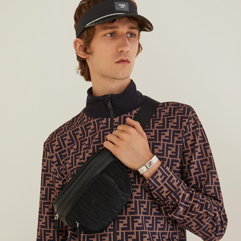 FENDI BELT BAG - Black fabric belt bag - view 6 detail
