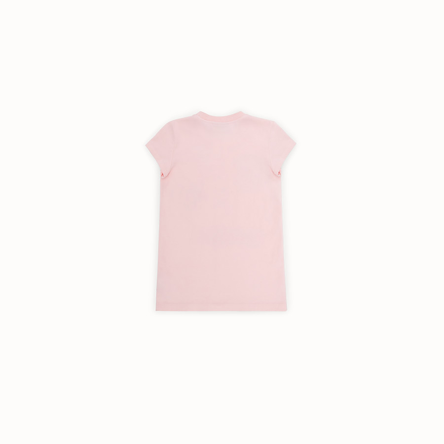 FENDI T-SHIRT - Jersey T-shirt with all-over print - view 2 detail