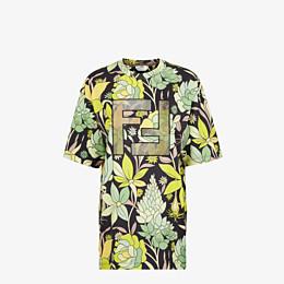 FENDI T-SHIRT - Mehrfarbiges T-Shirt aus Baumwolle - view 1 thumbnail