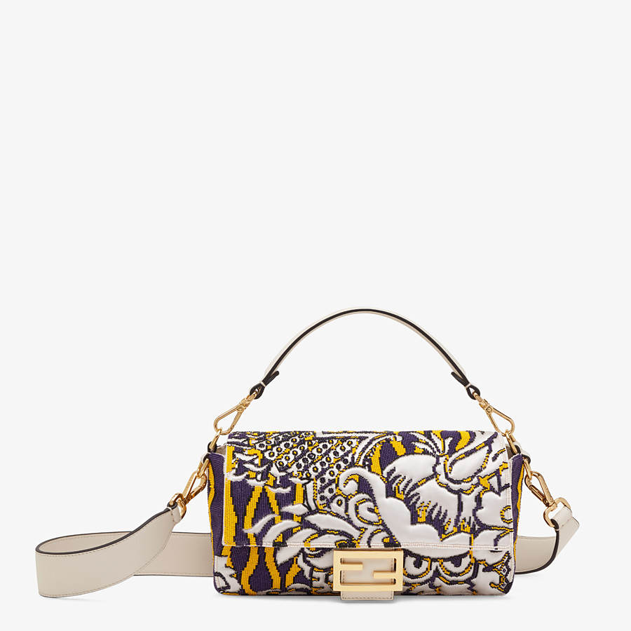 FENDI BAGUETTE - Bag with multicolor embroidery - view 1 detail
