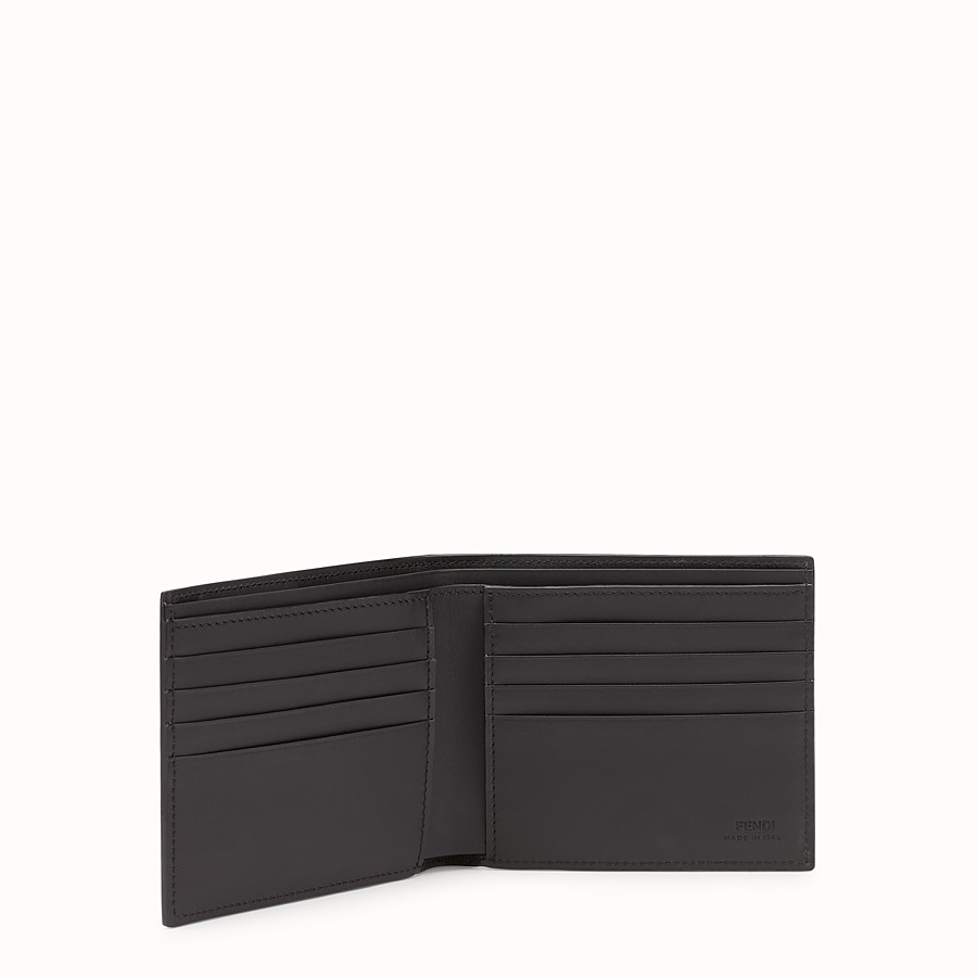 FENDI WALLET - Multicolour leather bi-fold wallet - view 3 detail