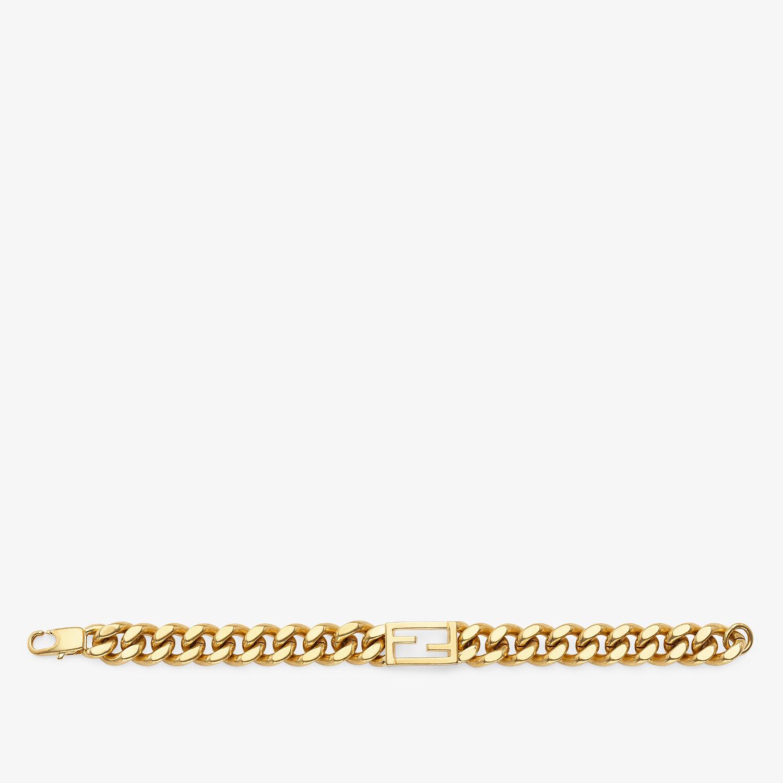 FENDI BAGUETTE BRACELET - Gold-coloured bracelet - view 1 detail