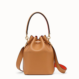 FENDI MON TRESOR - Brown leather bag - view 4 thumbnail