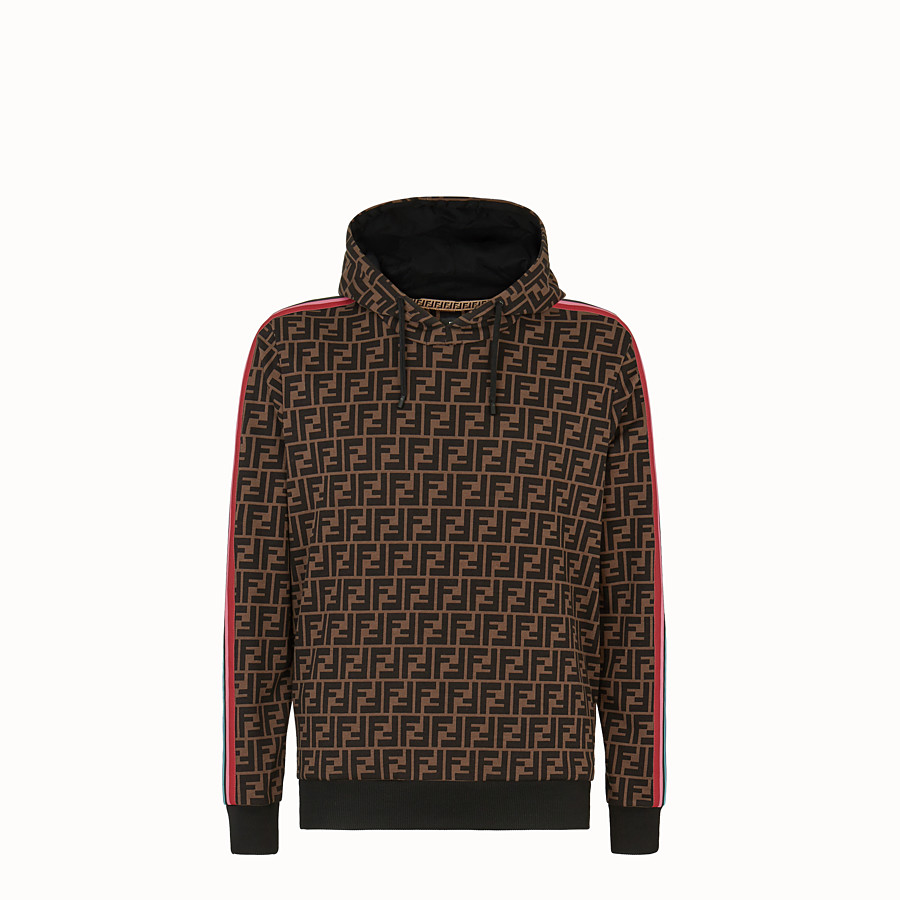FENDI SWEATSHIRT - Fendi Roma Amor fabric sweatshirt - view 1 detail