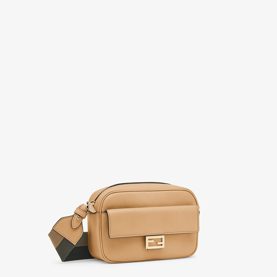 FENDI MINI FENDI CAM - Beige leather mini-bag - view 2 detail