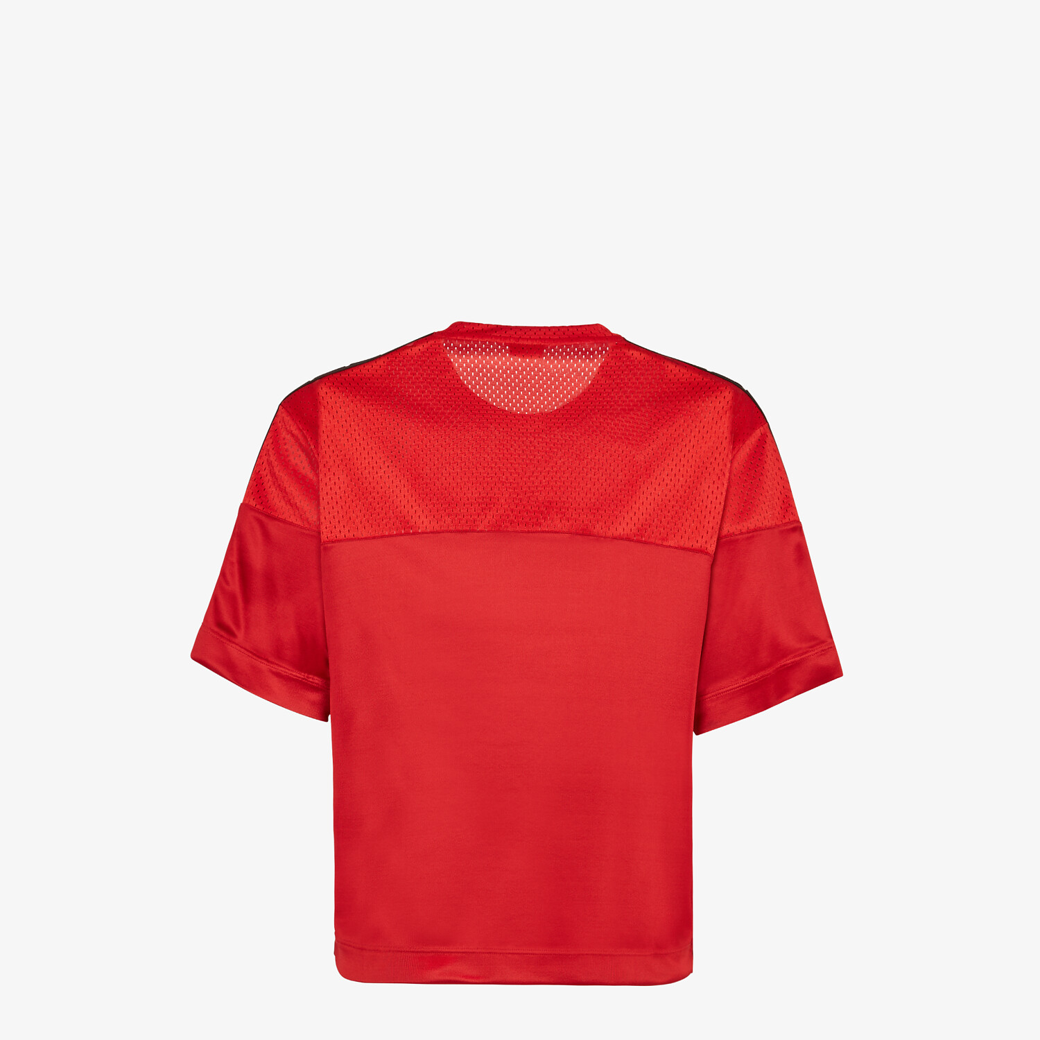 FENDI T-SHIRT - Red tech fabric T-shirt - view 2 detail