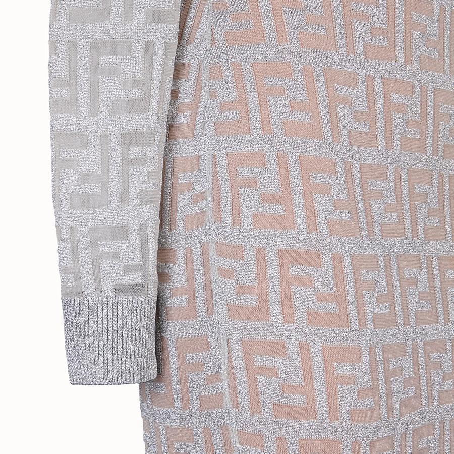 FENDI 裙裝 - 銀色針織洋裝 - view 3 detail