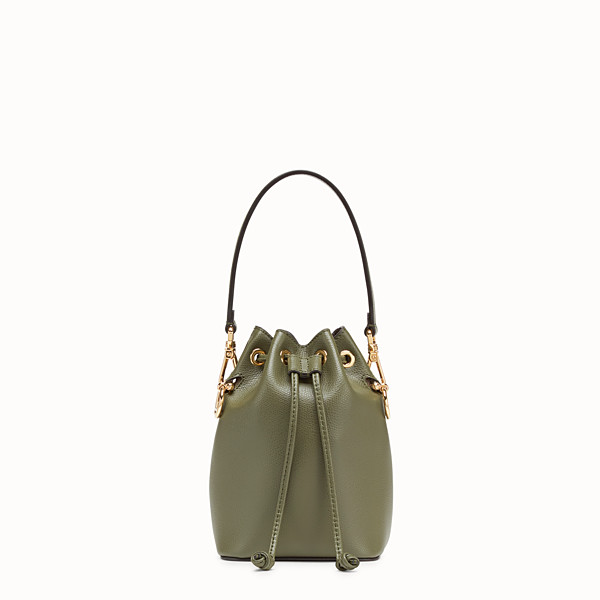 FENDI MON TRESOR - Green leather mini-bag - view 1 small thumbnail