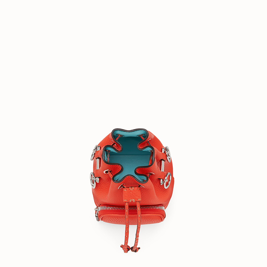 FENDI MON TRESOR - Fendi Roma Amor leather mini-bag - view 4 detail