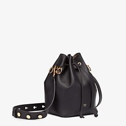 FENDI MON TRESOR - Black leather bag - view 2 thumbnail
