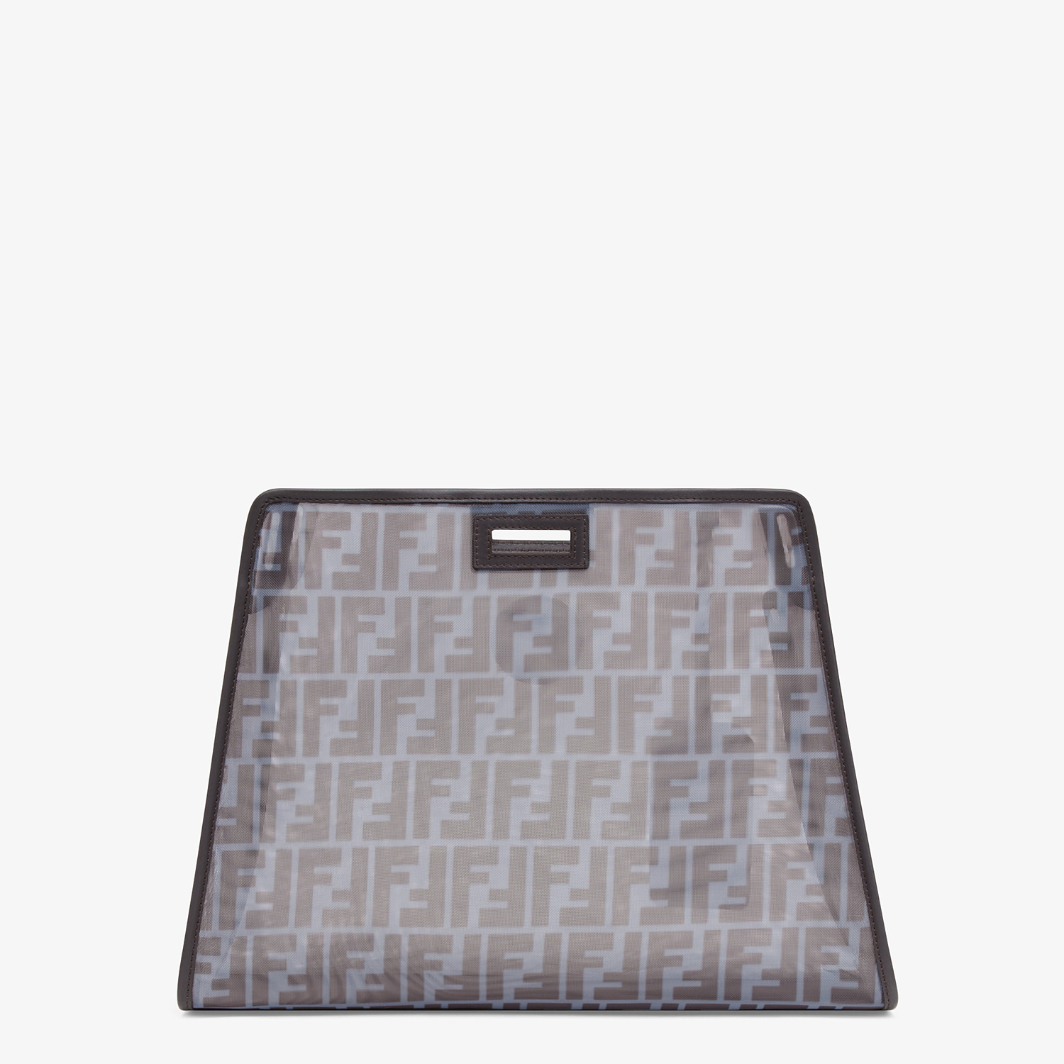 FENDI MEDIUM PEEKABOO DEFENDER - Light blue mesh Peekaboo cover - view 3 detail