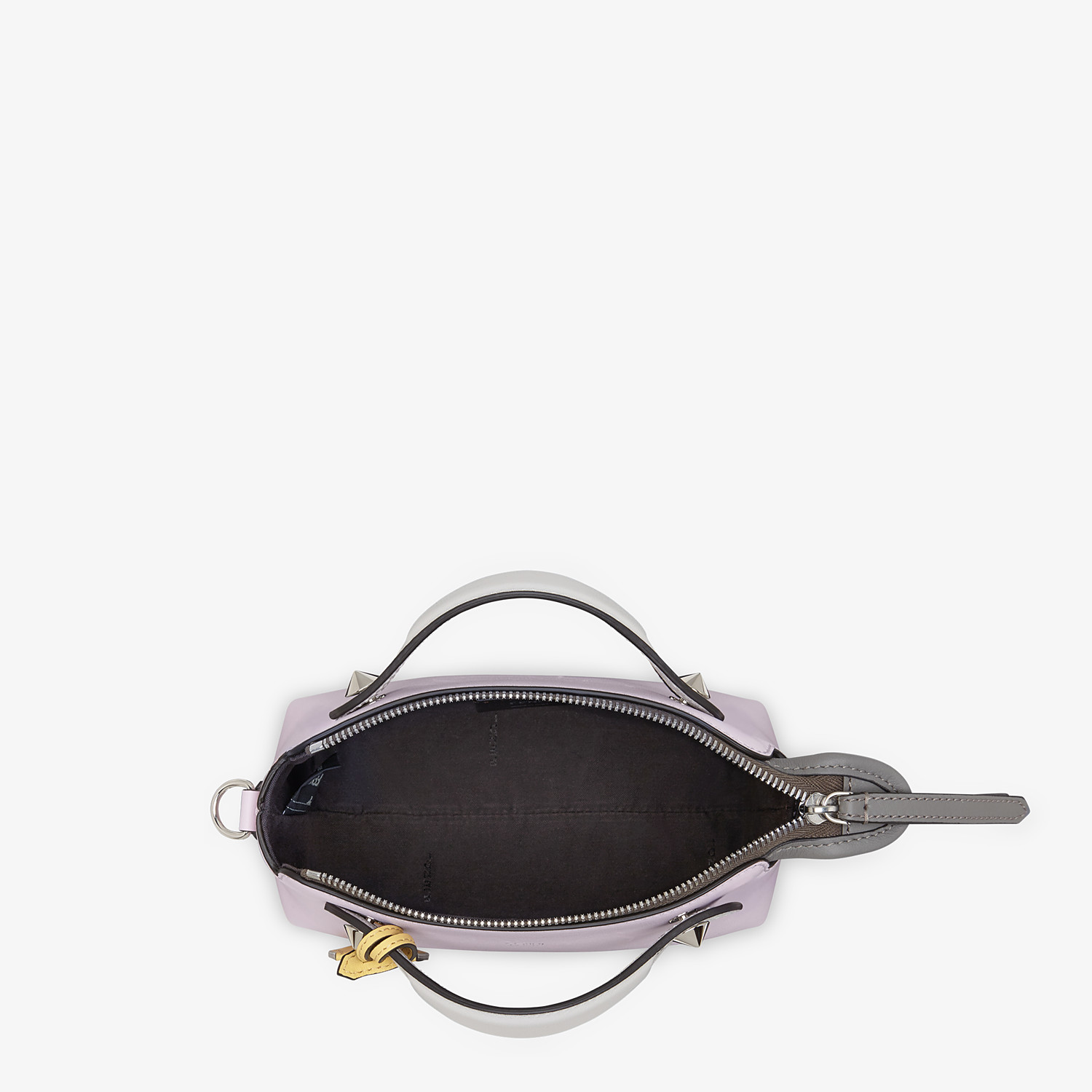 FENDI BY THE WAY MINI - Multicolor leather Boston bag - view 4 detail