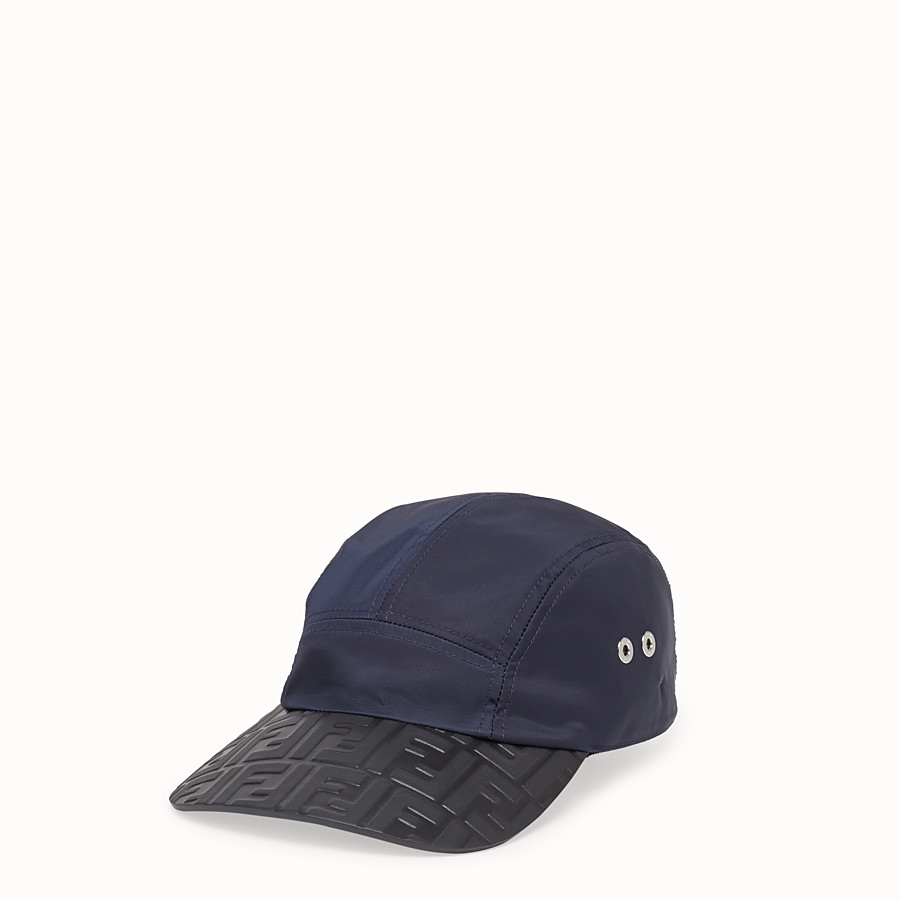 FENDI HAT - Blue tech fabric baseball cap - view 1 detail