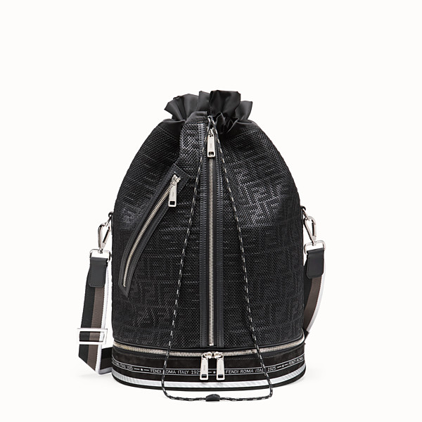 FENDI MON TRESOR - Black mesh holdall - view 1 small thumbnail