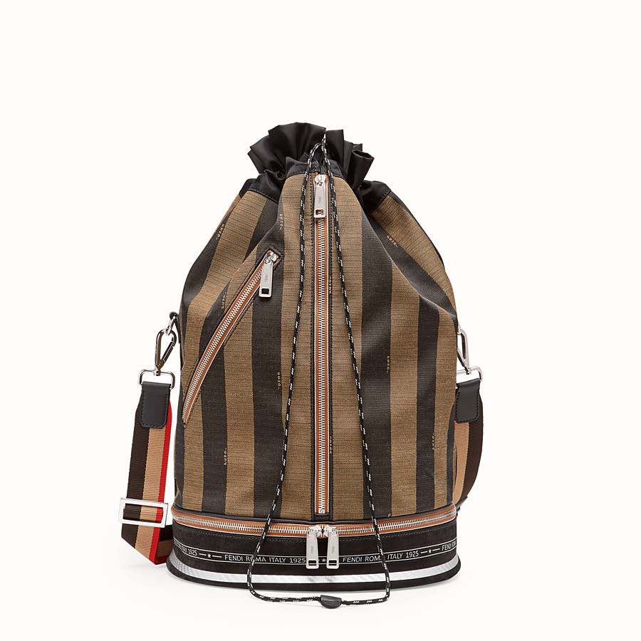 FENDI MON TRESOR - Multicolour fabric holdall - view 1 detail