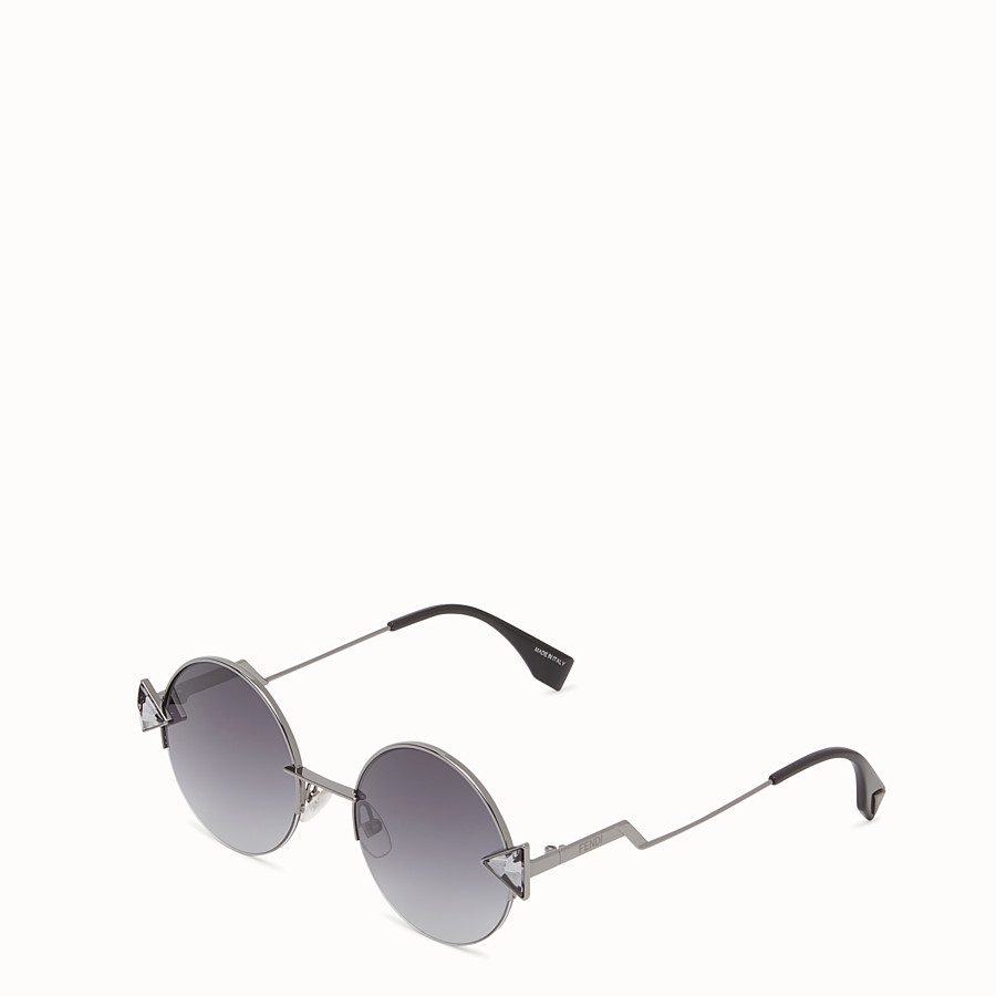 FENDI 레인보우 - 루테늄 컬러의 선글라스. - view 2 detail