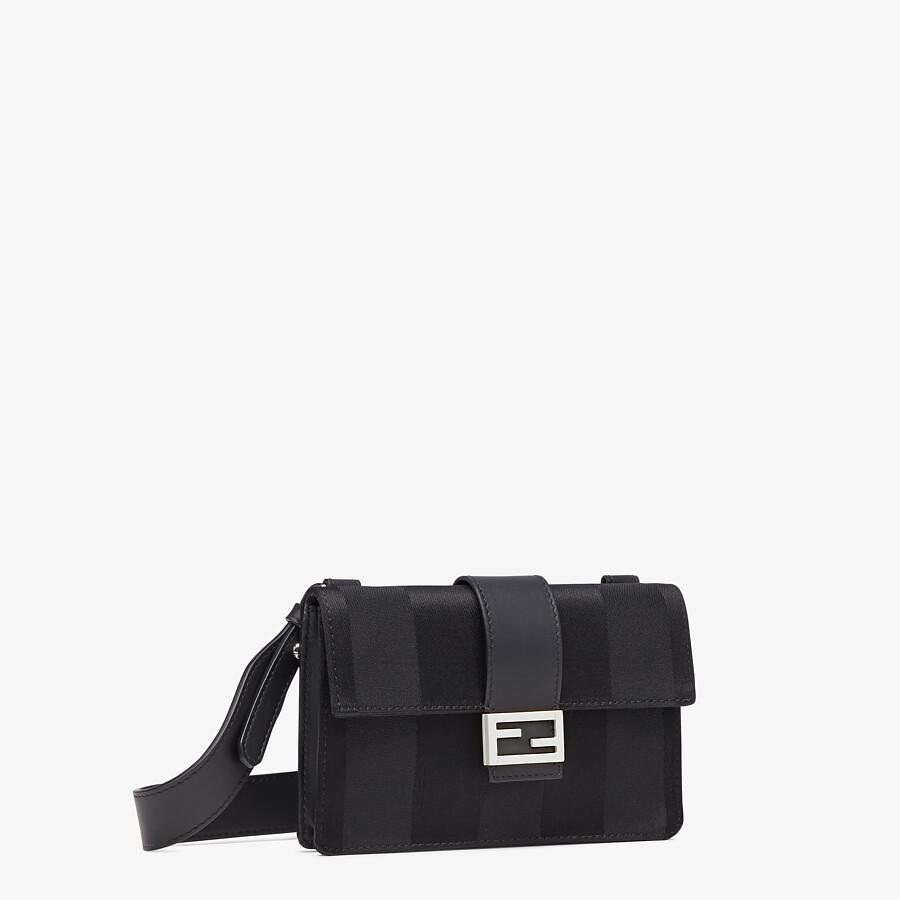 FENDI BAGUETTE POUCH - Black nylon bag - view 2 detail