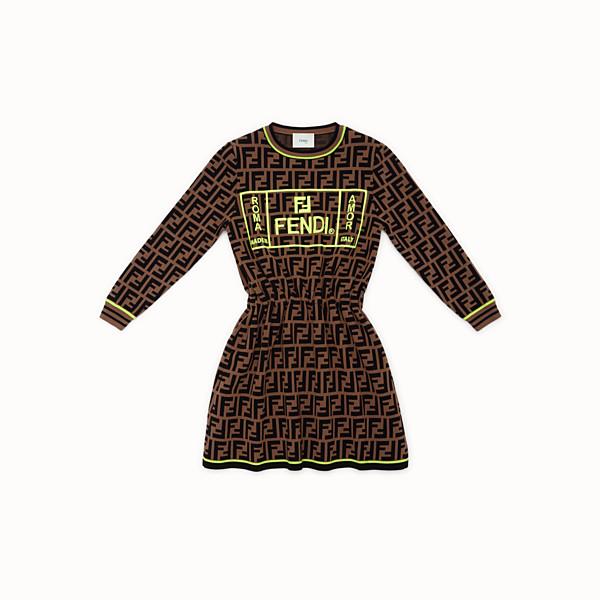 FENDI DRESS - Fendi Roma Amor knit dress - view 1 small thumbnail