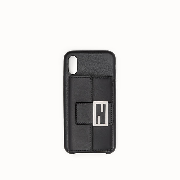 FENDI iPHONE X CASE - Black case - view 1 small thumbnail