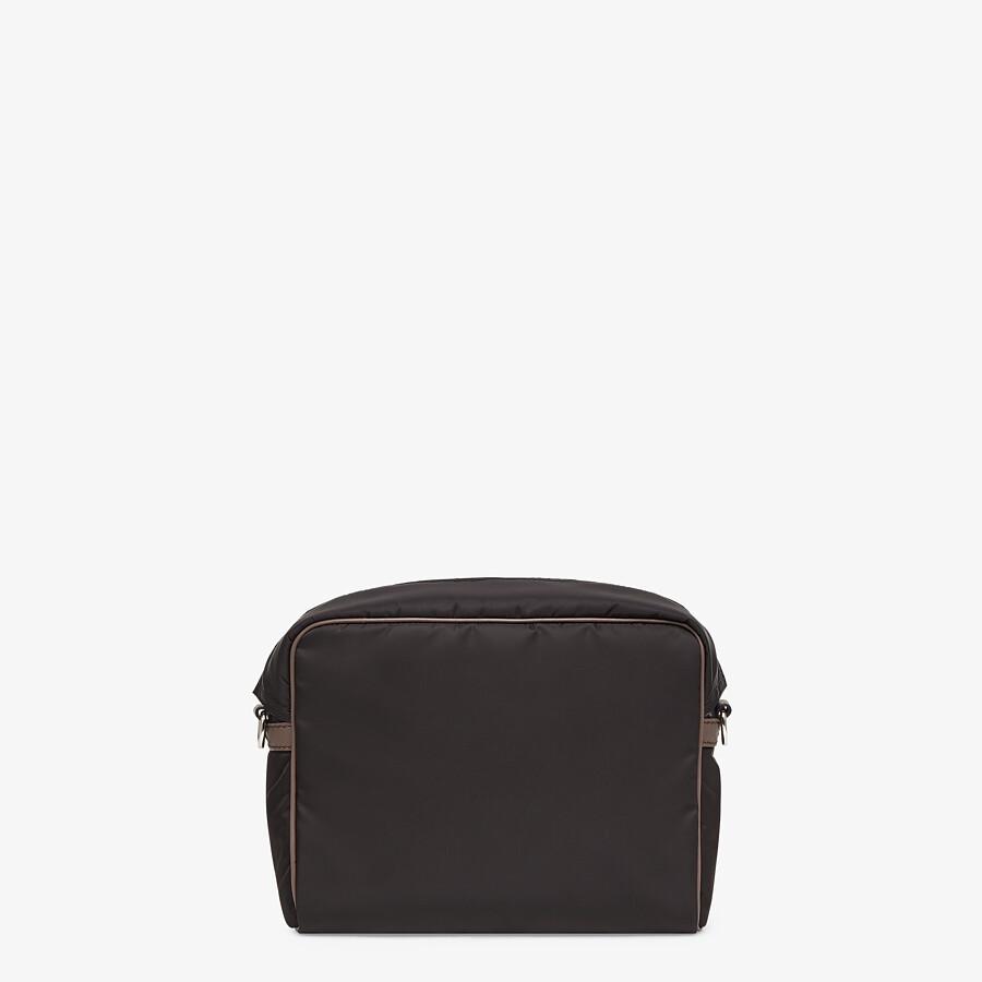 FENDI MESSENGER - Black nylon bag - view 4 detail