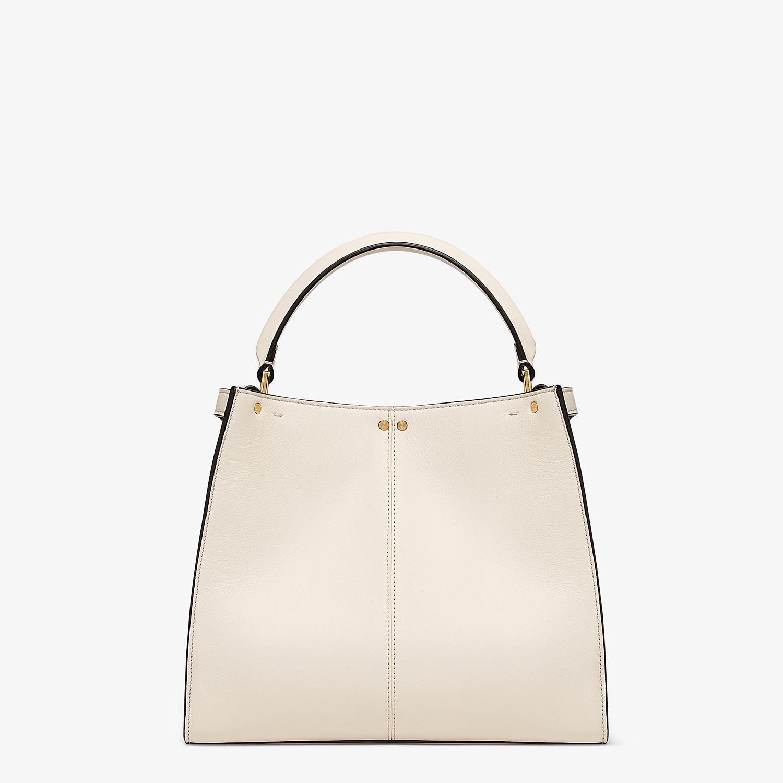 FENDI PEEKABOO X-LITE MEDIUM - White leather bag - view 5 detail