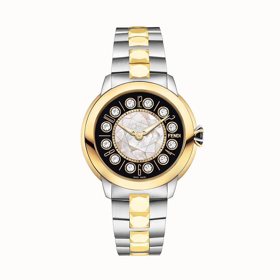 FENDI FENDI ISHINE - 33 mm - Watch with rotating gemstones - view 1 detail