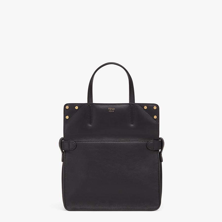 FENDI FENDI FLIP KLEIN - Tasche aus Leder in Schwarz - view 3 detail