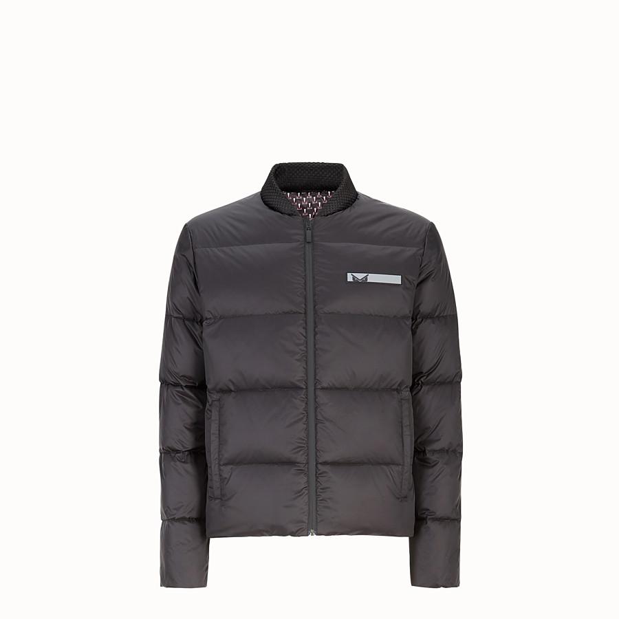 FENDI DOWN JACKET - Reversible nylon down jacket - view 1 detail