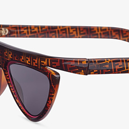 FENDI FFLUO - Brown sunglasses - view 3 thumbnail