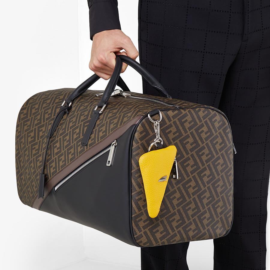 FENDI DUFFLE LARGE - Large brown fabric bag - view 6 detail
