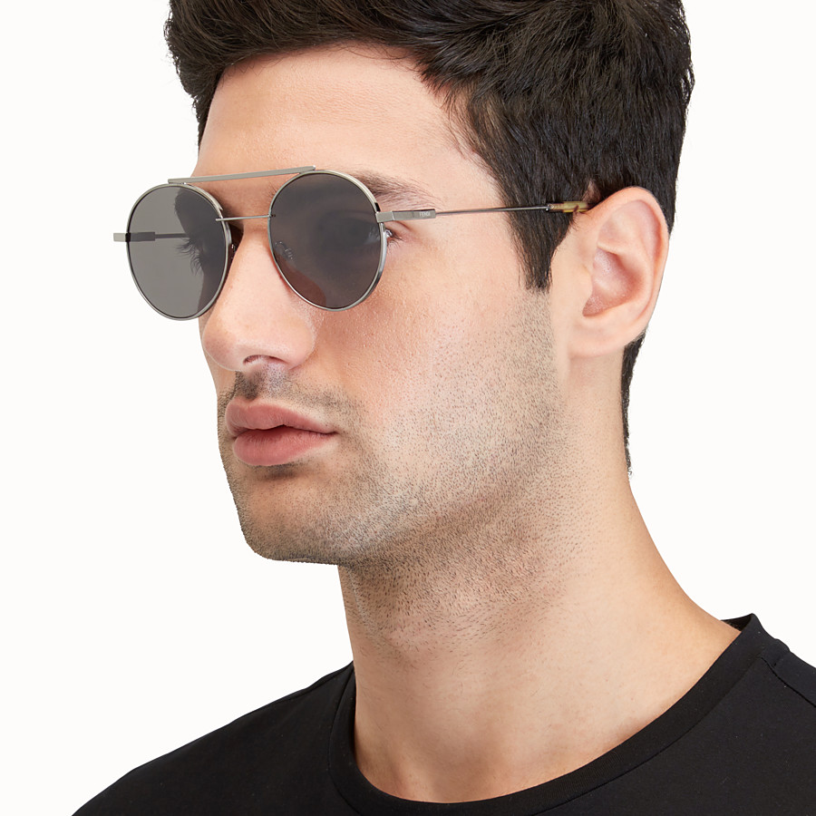 FENDI FENDI AIR - Ruthenium sunglasses - view 4 detail