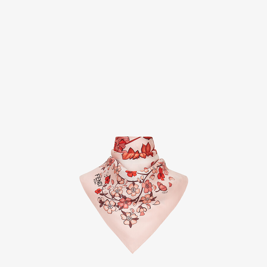 FENDI FENDI FOULARD - Foulard from the Lunar New Year Limited Capsule Collection - view 2 detail