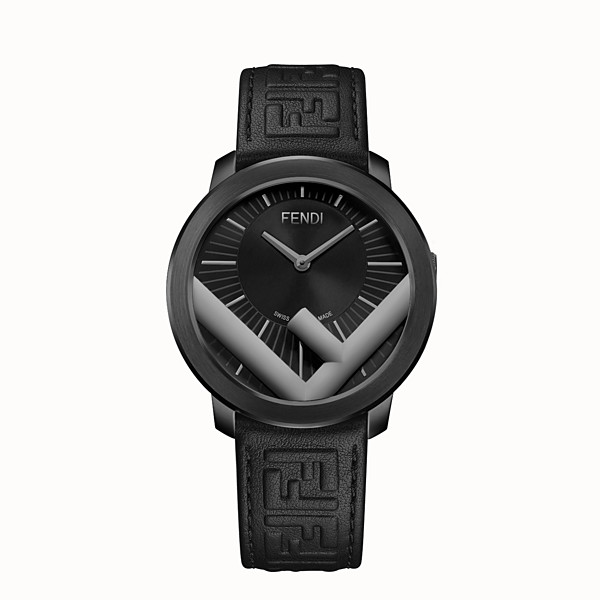 FENDI RUN AWAY - 41 mm - Watch with F is Fendi logo - view 1 small thumbnail