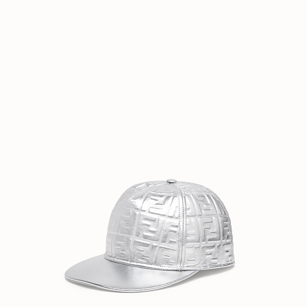 FENDI HAT - Fendi Prints On leather baseball cap - view 1 small thumbnail