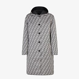 FENDI DUFFEL COAT - Black nylon coat - view 4 thumbnail