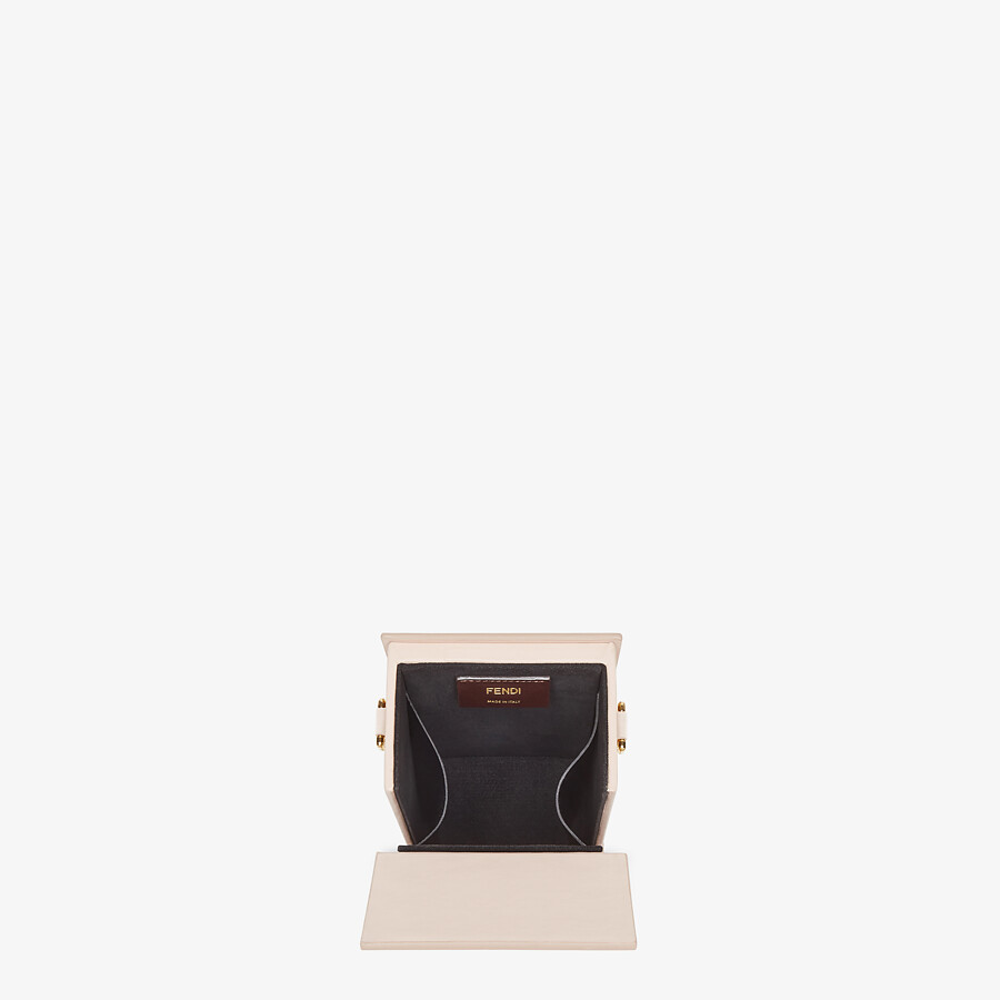 FENDI VERTICAL BOX - Tasche aus Leder in Rosa - view 5 detail