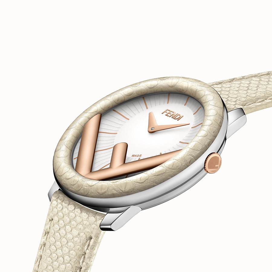 "FENDI RUN AWAY - 36 mm – Uhr mit ""F is Fendi""-Logo - view 3 detail"