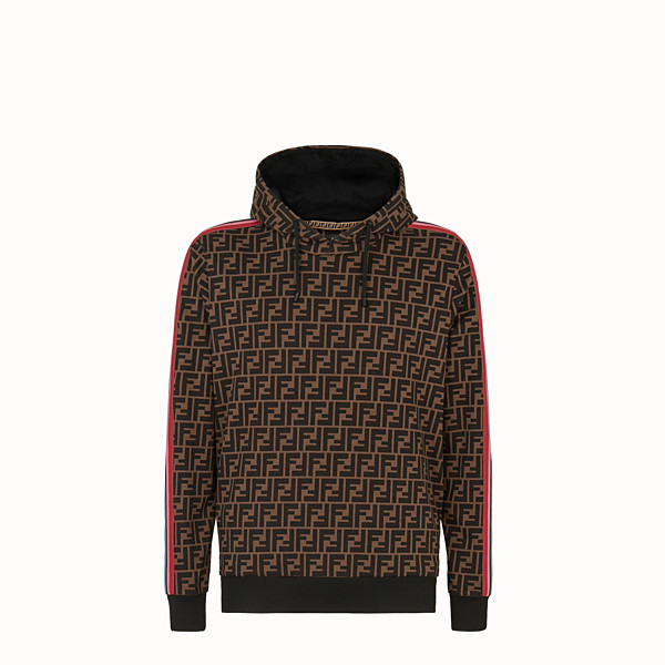 FENDI SWEATSHIRT - Fendi Roma Amor fabric sweatshirt - view 1 small thumbnail