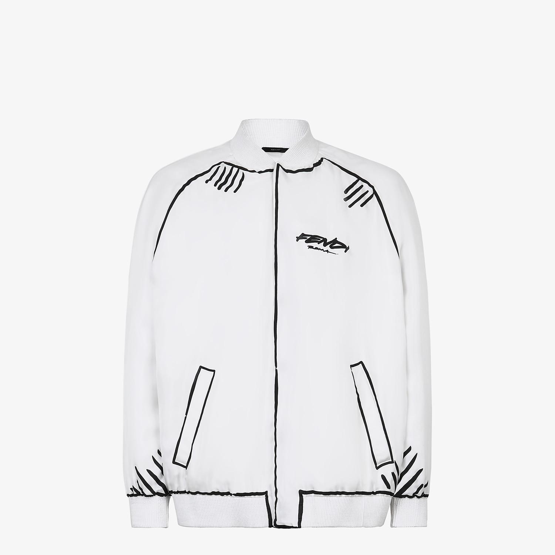 FENDI BOMBER - Fendi Roma Joshua Vides silk jacket - view 1 detail